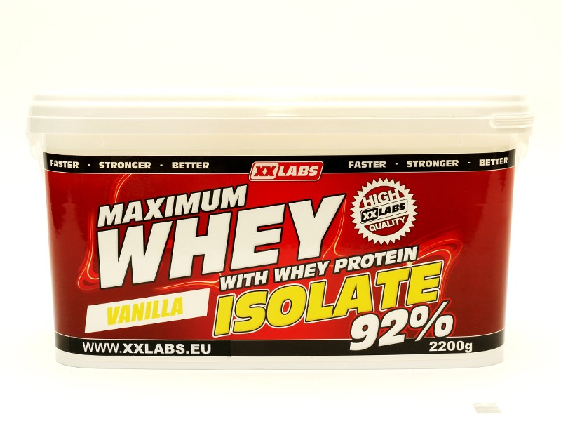 Maximum Whey Protein Isolate 92%